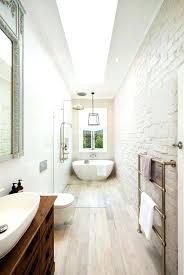 narrow bathroom ideas narrow bathroom ideas littleplanet me