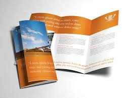 brochure layout indesign template indesign brochure templates free template download