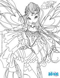 bloom transformation bloomix coloring page coloring pages