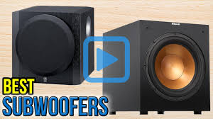 use car subwoofer in home theater top 10 subwoofers of 2017 video review