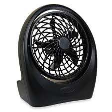 battery operated fans o2cool portable plus 5 inch battery powered portable fan bed