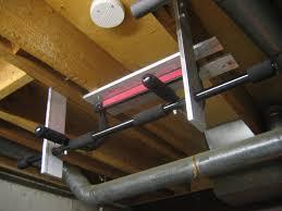 basement pull up bar joist ideas for build basement pull up bar