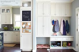 mudroom makeover tips to organize your entryway better homes