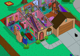 real life replica of the simpsons house built in nevada album on