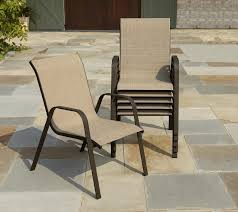 Patio Chair Material by Stack Sling Patio Chair Naura Homes