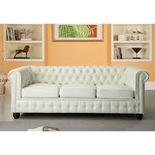 canapé imitation chesterfield chesterfield blanc pas cher