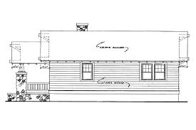 craftsman house plans pinewald 41 014 associated designs