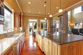 Open Living Room Kitchen Designs Luxury Kitchen Design Ideas Custom Cabinets Part 3 Designing Idea