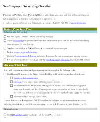 41 checklist templates free u0026 premium templates