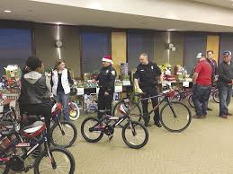 Department Gifts Bryan Department Distributes Gifts To Families In Need