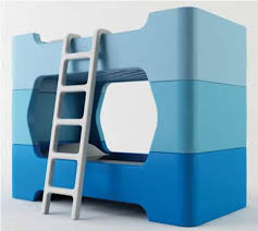 FourPiece Bunk Beds  Bunky Bunk Bed - Waterbed bunk beds