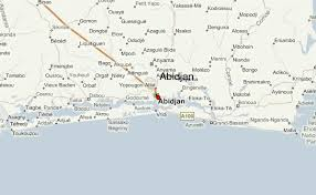 map of abidjan abidjan weather forecast