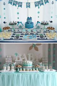 baby blocks bears and bowties baby shower party ideas baby
