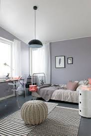 decoration pour chambre d ado fille chambre ado fille grise à la déco sobre