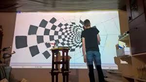 epson 3d wall painting timelapse youtube