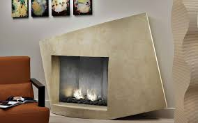 fireplace contemporary living room design idea with modern