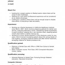 Examples Of Medical Assistant Resumes Cover Letter Cover Letter For Medical Assistant Externship Cover