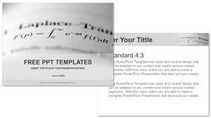 long math education powerpoint templates