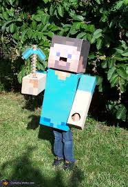 Minecraft Villager Halloween Costume Steve Minecraft Costume Halloween Costumes Minecraft