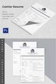 Resume Sample Format Pdf File by Cashier Resume Template U2013 11 Free Word Excel Pdf Psd Format