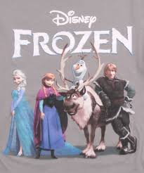 womens frozen classic group logo shirt