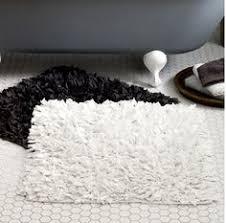 White Bathroom Rugs Black Bathroom Rugs Roselawnlutheran