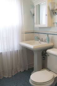 Small Pedestal Bathroom Sinks Artistic Small Bathroom Pedestal Sink Storage Behind White Ceramic