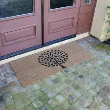modern landscape contemporary doormat