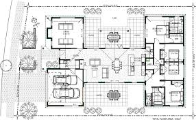 Family House Plan House Plan Floor Friday Bedroom With Family Living And Scullery