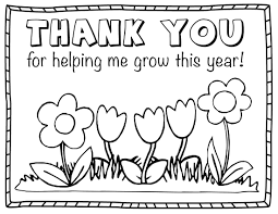 thank you coloring page thank you cards coloring pages free