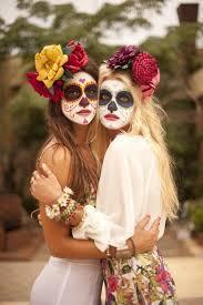 sugar skull costume hauntingly beautiful sugar skull makeup found on