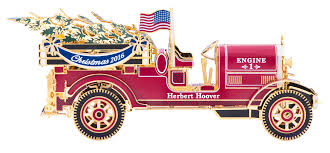 2016 fire truck white house christmas ornament the white house