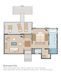 Square Feet To Square Meter Diamond Overwater Villa