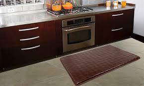 Martha Stewart Kitchen Rugs Stylish Fine Memory Foam Kitchen Mat Martha Stewart Collection
