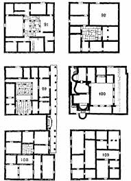 roman insula floor plan ancienttown planning by f haverfield