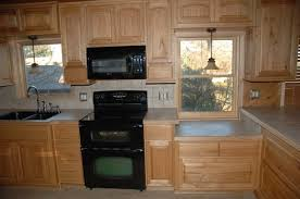Custom Built Kitchen Cabinets Assembled Hickory Kitchen Cabinets Custom Made Hickory Kitchen