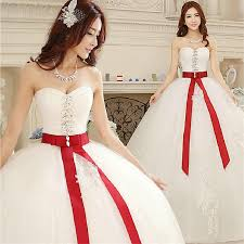 Red And White Wedding Dresses Compare Prices On Red And White Bride Gown Online Shopping Buy