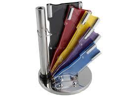 8 pcs multi colour waltmann und sohn kitchen knife set with 8 pcs multi colour waltmann und sohn kitchen knife set with spining acrylic stand new