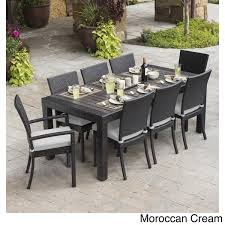 Moroccan Patio Furniture Rst Brands Deco 9 Piece Dining Set Patio Furniture Free Shipping
