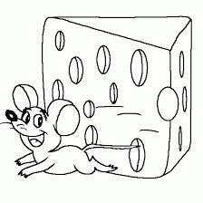 imagenes de ratones faciles para dibujar dibujos para colorear de queso ideas creativas sobre colorear