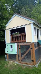 playhouse u0026 chicken coop combo backyard chickens
