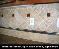 Travertine Tile Backsplash Travertine Backsplash Diamond - Travertine tile backsplash