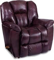 la z boy reclina rocker leather chaise maverick carlson u0027s furniture