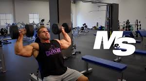 Dumbbell Bench Press Form Jay Cutler U0027s Training Tips Dumbbell Shoulder Press Technique