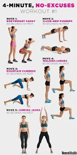 https i pinimg 736x 4a best 25 4 minute workout ideas on workout