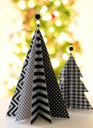 Making Decorations For Christmas Tree by 45 Wonderful Paper And Cardboard Diy Christmas Decorations