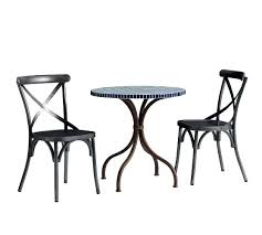 table and chair set walmart mosaic bistro table set mosaic bistro table x back bistro chair set