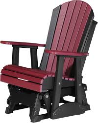 Luxcraft Porch Rocker Amish Yard Four Seasons Furnishings Amish Made Furniture Luxcraft Poly 2ft