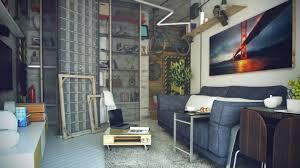 home design idyllic small office loft space inspiring show