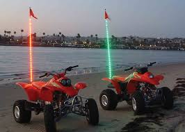 led light whip for atv amazon com theone led lighted whips rgb with remote led safety
